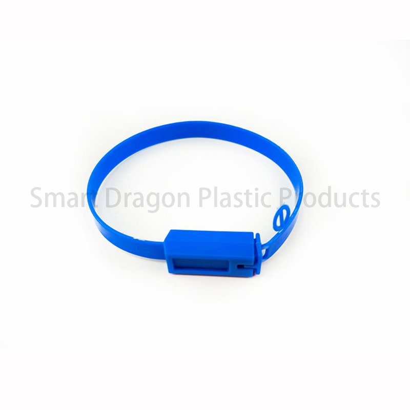 SMART DRAGON 210mm PP One Time Plastic Seals Printed Serial Numbers and Logo Plastic Security Seal image105