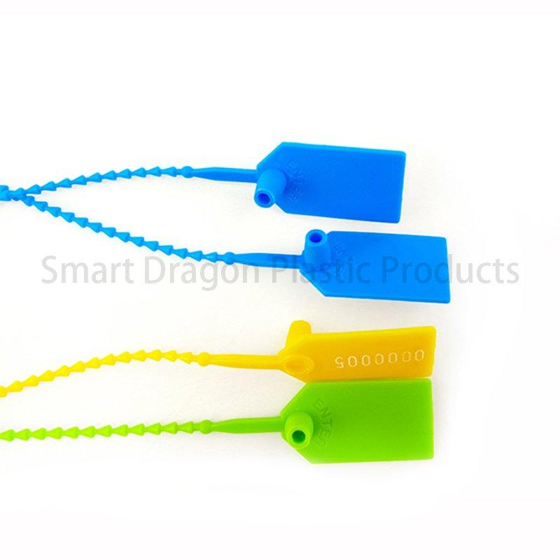 230mm Nylon Plastic Pull Tight Security Ballot Box Seals for Temper Proof