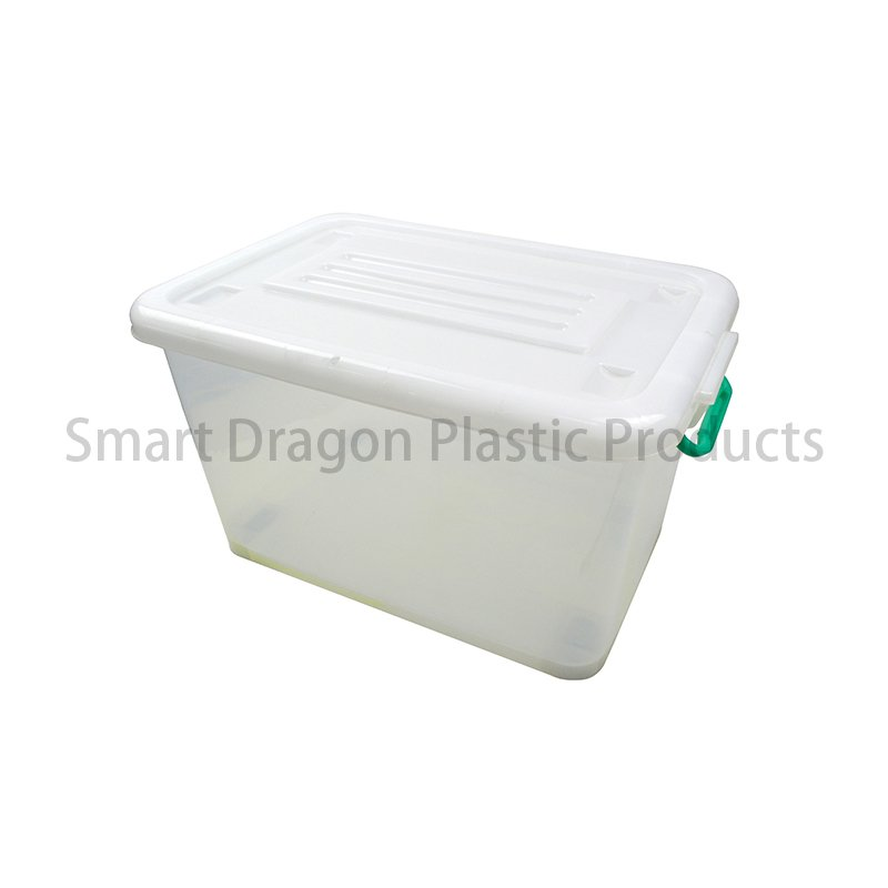 SMART DRAGON PP Transparent Ballot Box In Bottom with 4 Directional Wheel Voting Box Plastic Ballot Box image102