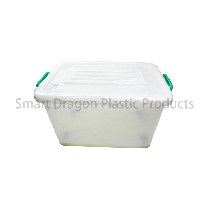 PP Transparent Ballot Box In Bottom with 4 Directional Wheel Voting Box