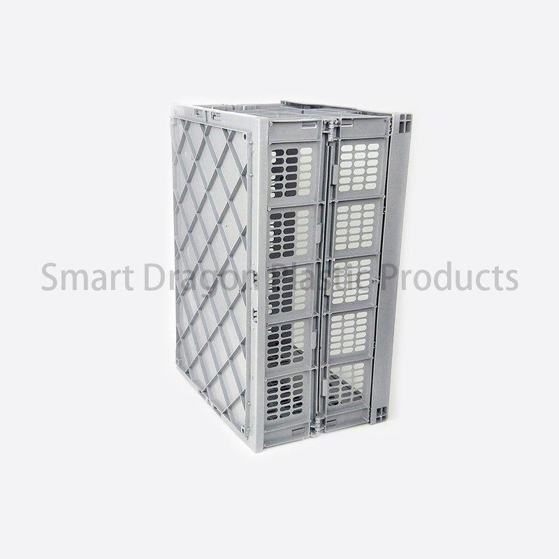 Food Grade Plastic Turnover Box Folding Basket Boxes