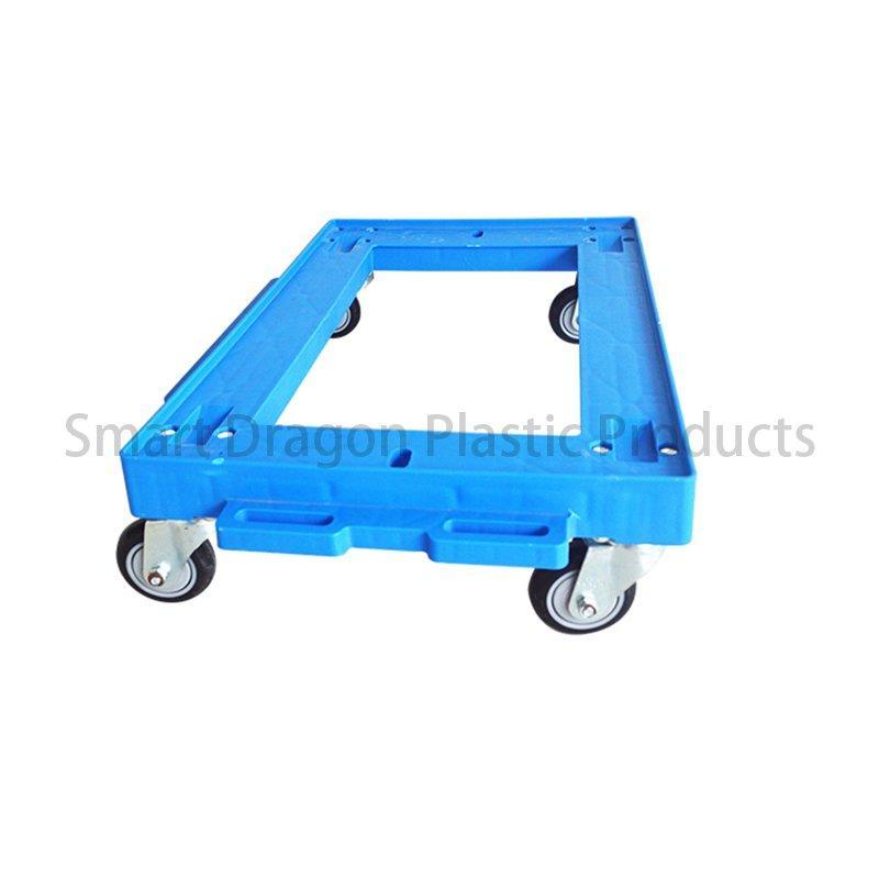 4 Wheels Rolling Strong Plastic Trolleys
