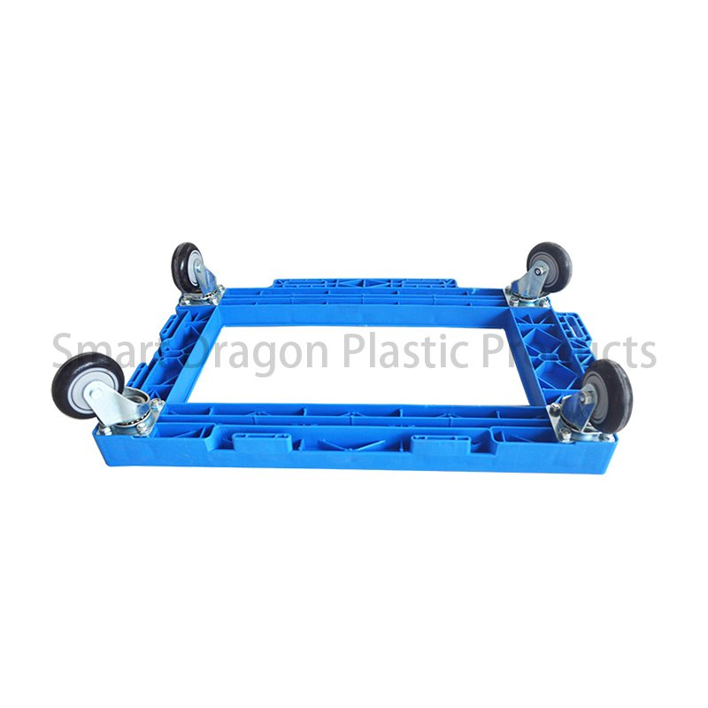 SMART DRAGON 4 Wheels Rolling Strong Plastic Trolleys Plastic Trolleys image98