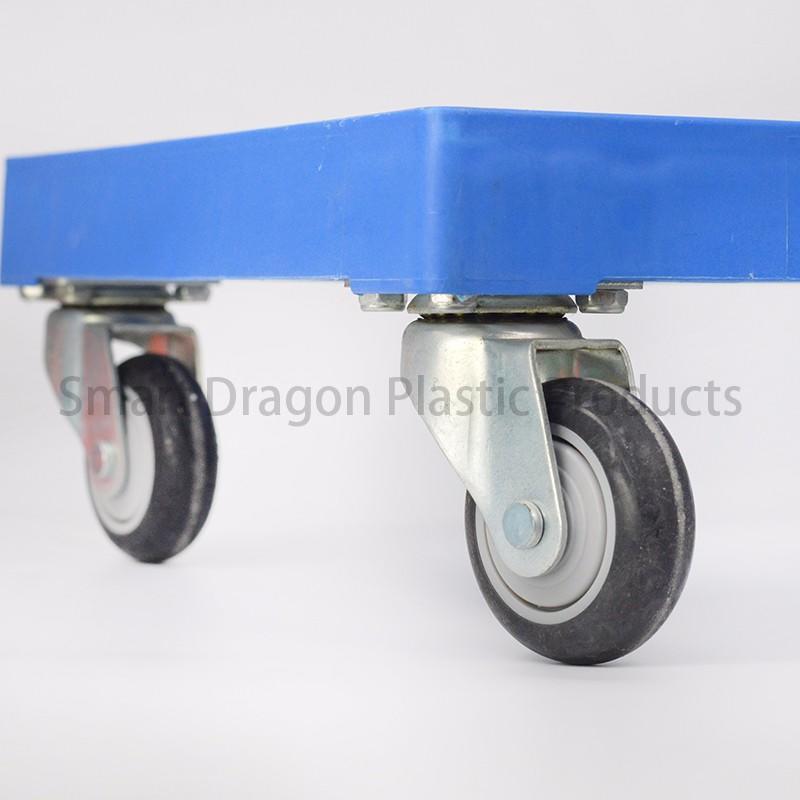 plastic pallet duty moving garden trolley SMART DRAGON Brand
