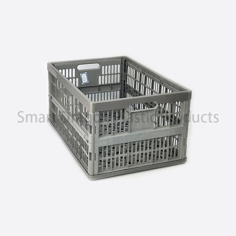 SMART DRAGON Large Size Collapsible Plastic Crates For Storage Plastic Folding Boxes image96