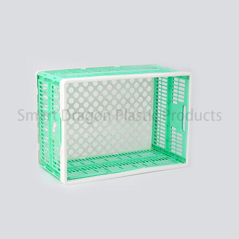 SMART DRAGON Plastic Pp Heavy Loading Foldable Box For Moving Storage Plastic Folding Boxes image95