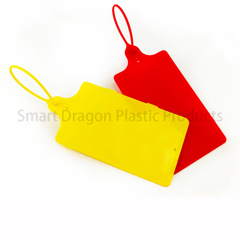 Hot standard plastic bag security seal barcode temper SMART DRAGON Brand
