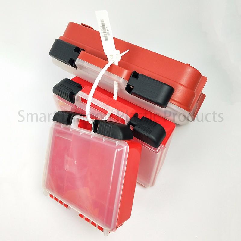 SMART DRAGON printed plastic container seals padlock for ballot box-4
