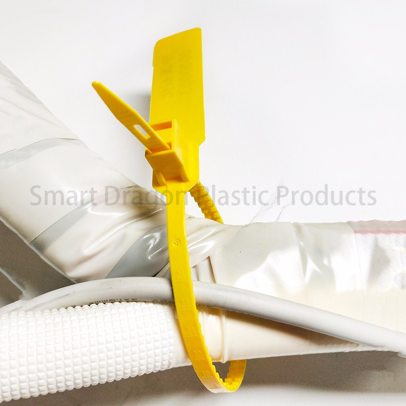 SMART DRAGON printed plastic container seals padlock for ballot box-5