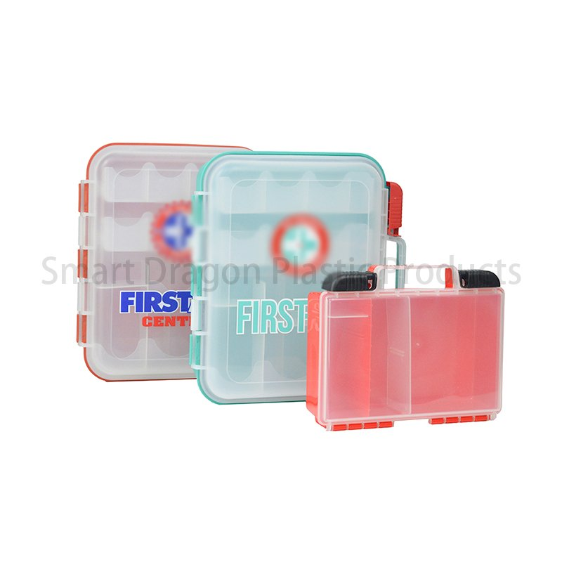SMART DRAGON Plastic First Aid Box Travel First Aid Kit Contents Plastic First Aid Box image13
