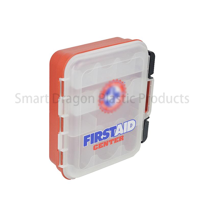 SMART DRAGON Plastic First Aid Box Travel First Aid Kit Contents Plastic First Aid Box image81