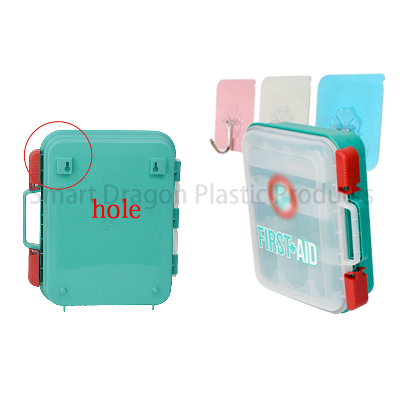 Plastic First Aid Box Travel First Aid Kit Contents-5