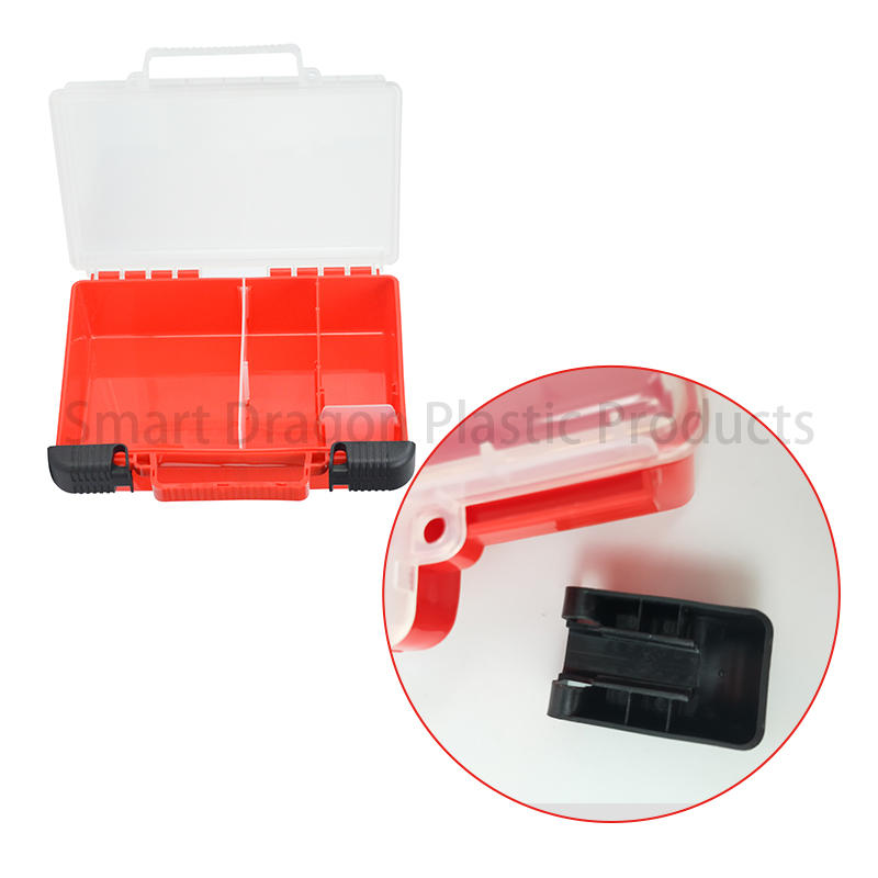 camping travel plastic medicine box first SMART DRAGON Brand