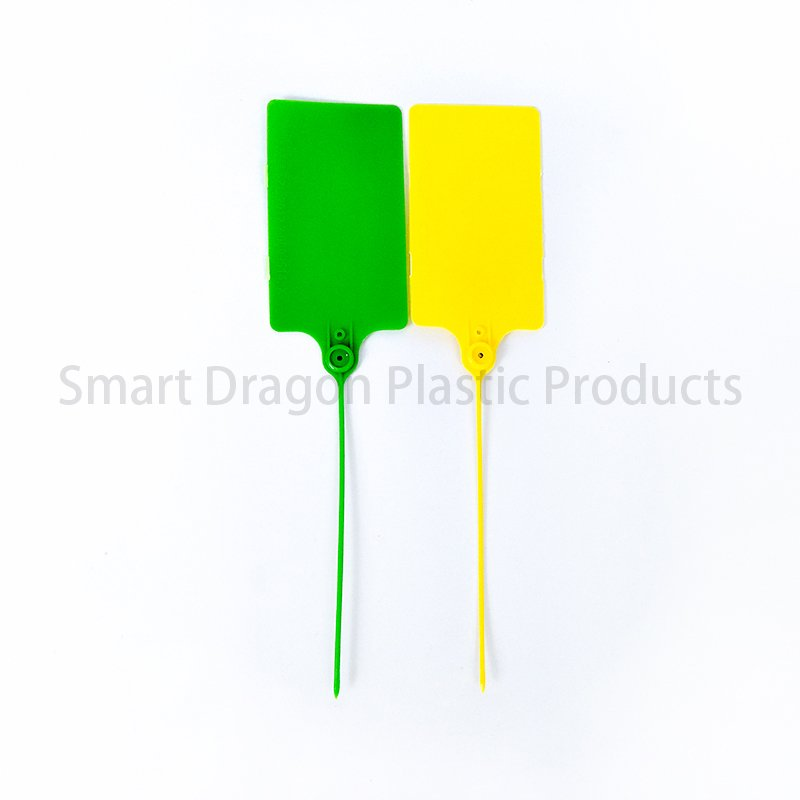 SMART DRAGON Pp Material Plastic Security Seal Length Customized Plastic Security Seal image5