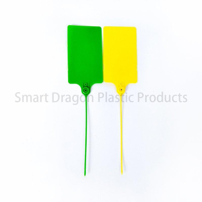 Pp Material Plastic Security Seal Length Customized