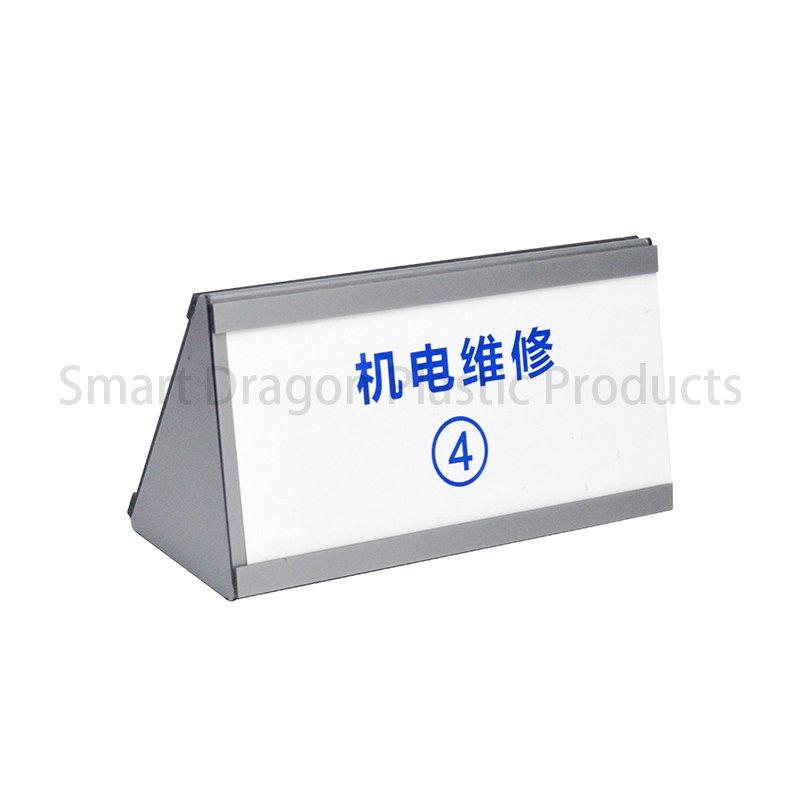 The Plastic Car Top Hat In Triangle Shape Customized Text