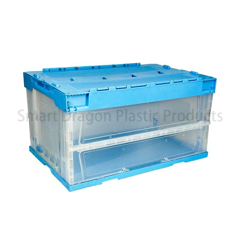 Pp Material Folding Crate Plastic Turnover Boxes