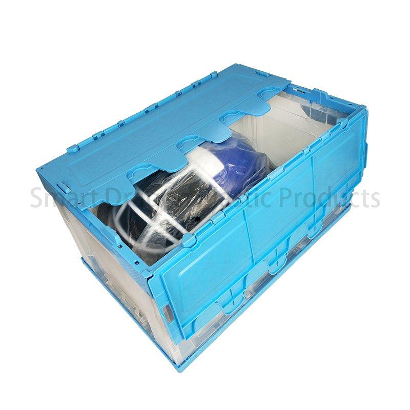 SMART DRAGON Pp Material Folding Crate Plastic Turnover Boxes Plastic Turnover Boxes image51