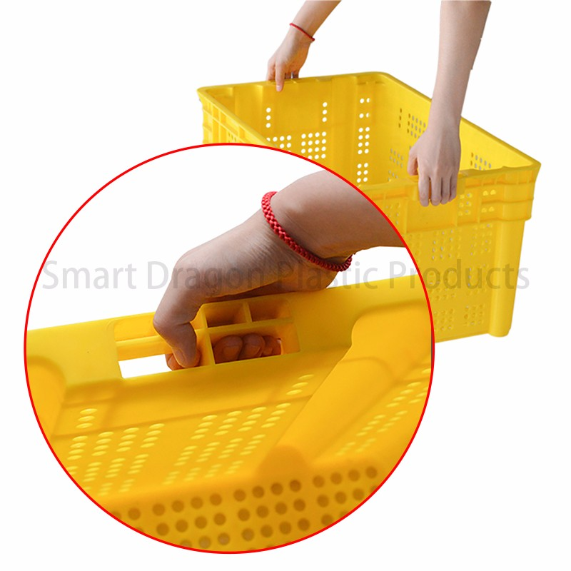 SMART DRAGON-Pp Material Mesh Wall Storage Plastic Basket | Plastic Turnover-2