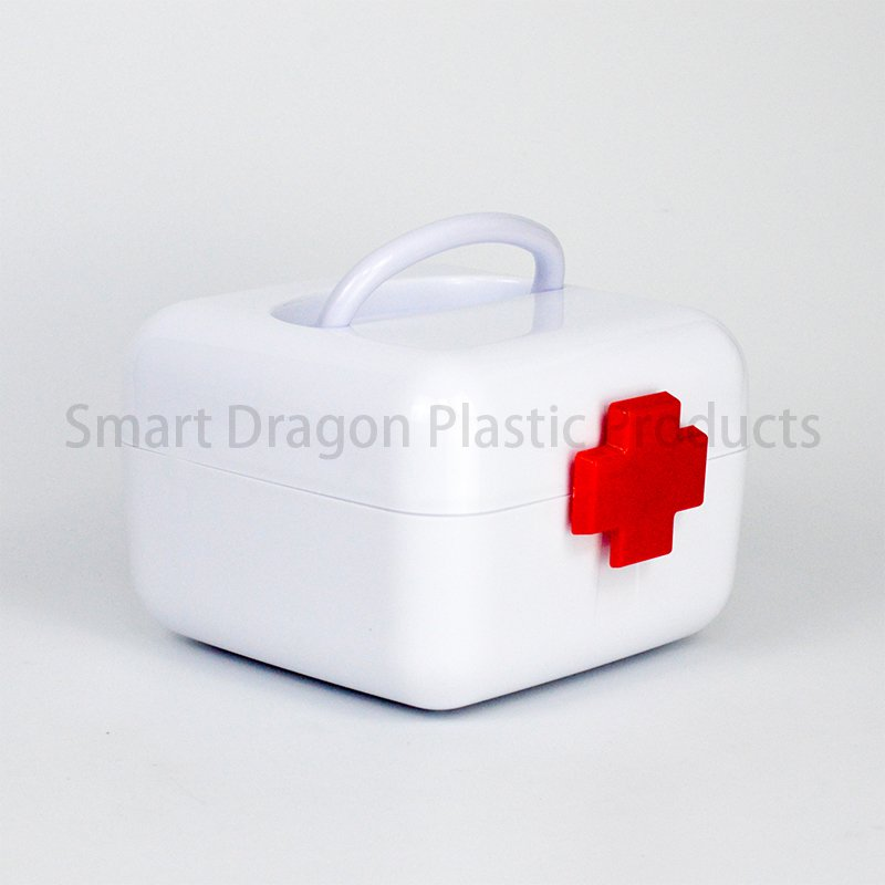 SMART DRAGON Pp Material Survival Medicine Box Design For Pharmacy Plastic First Aid Box image4
