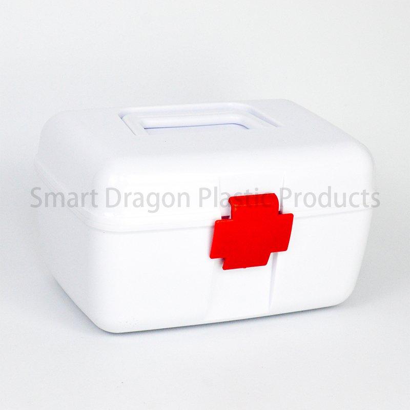 SMART DRAGON Factory Small Waterproof Plastic Medicine Box Plastic First Aid Box image43