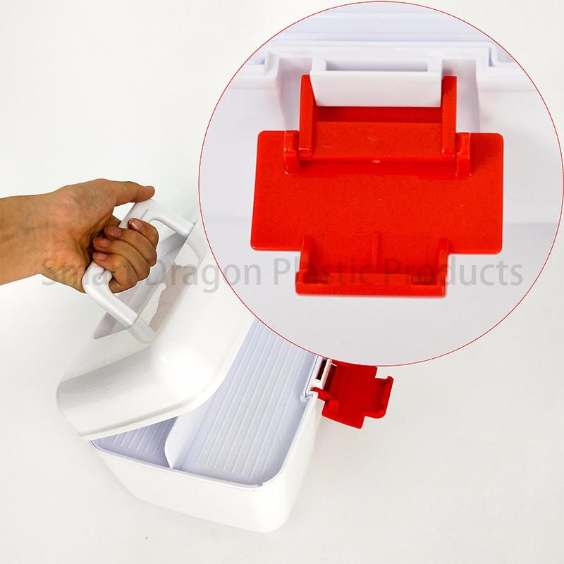 camping pp first plastic medicine box aid SMART DRAGON Brand