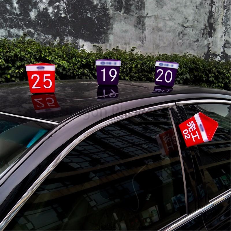 SMART DRAGON-Custom Professional Auto Service Car Roof Hat | Plastic Car Top Hats-4