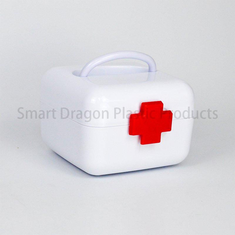 SMART DRAGON Portable Pp Material Plastic Mini Box For Medicine Plastic First Aid Box image2