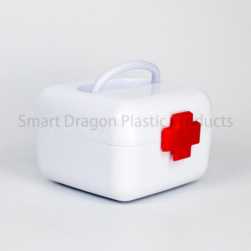 Portable Pp Material Plastic Mini Box For Medicine