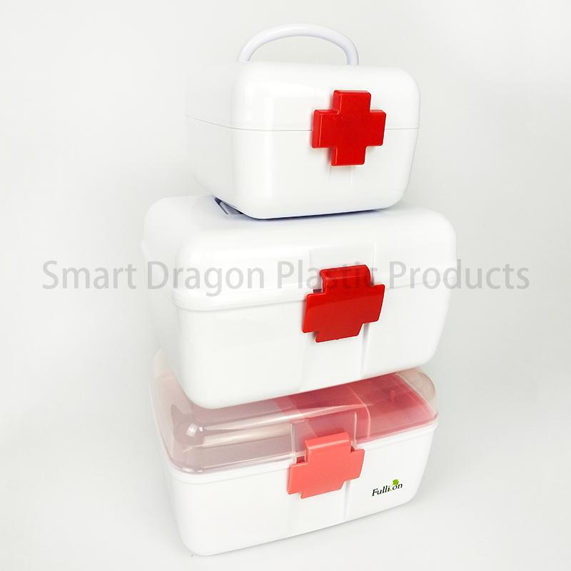 SMART DRAGON-Portable Pp Material Plastic Mini Box For Medicine | Professional service-1