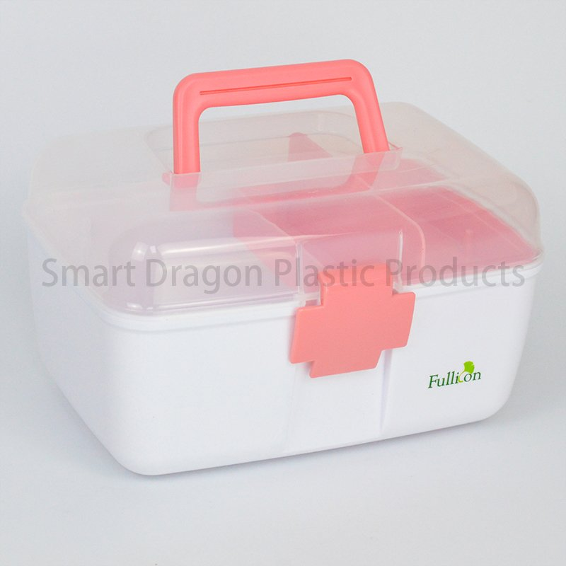 SMART DRAGON Waterproof Medicine Storage Box For Pharmacy Plastic First Aid Box image1
