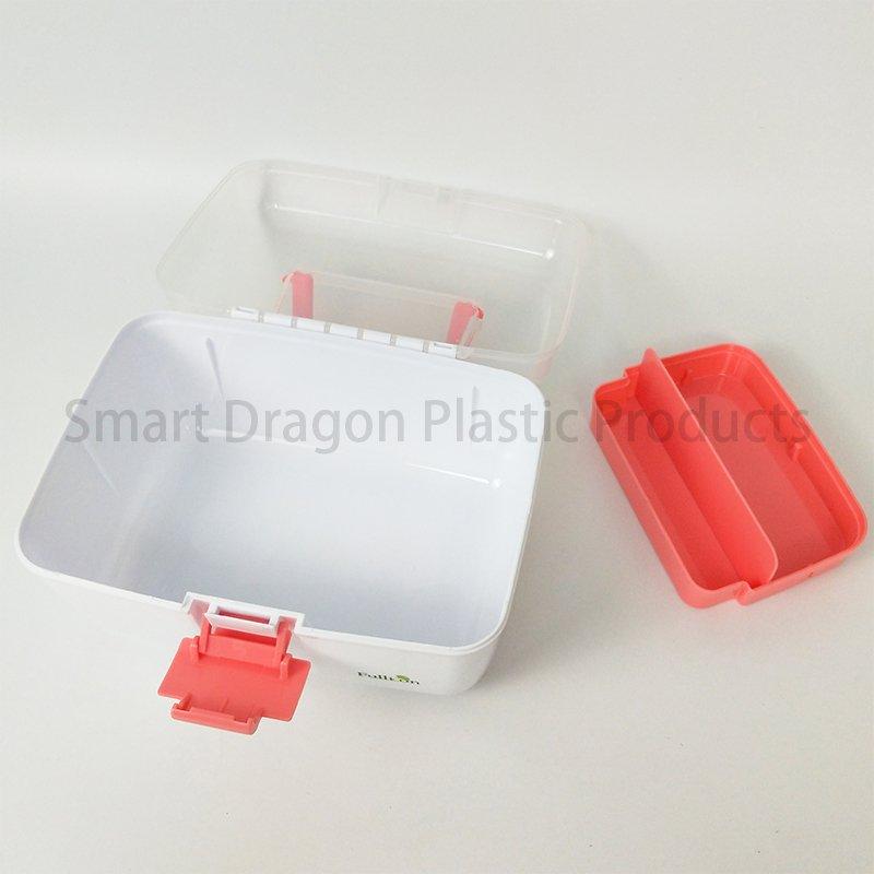 SMART DRAGON Waterproof Medicine Storage Box For Pharmacy Plastic First Aid Box image38