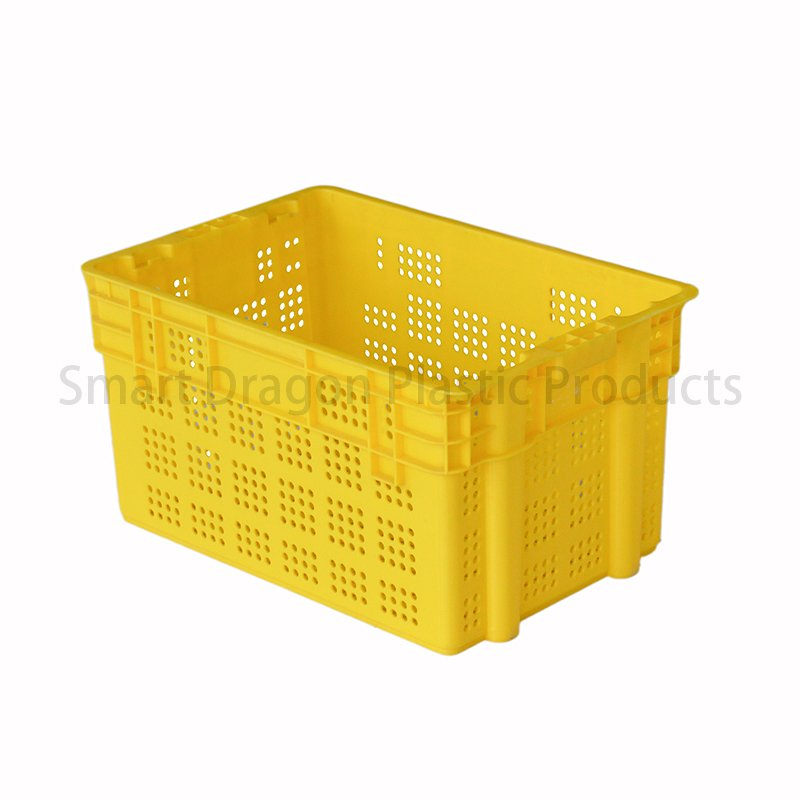 SMART DRAGON Wholesale Factory Plastic Turnover Boxes Storage Basket Plastic Turnover Boxes image37