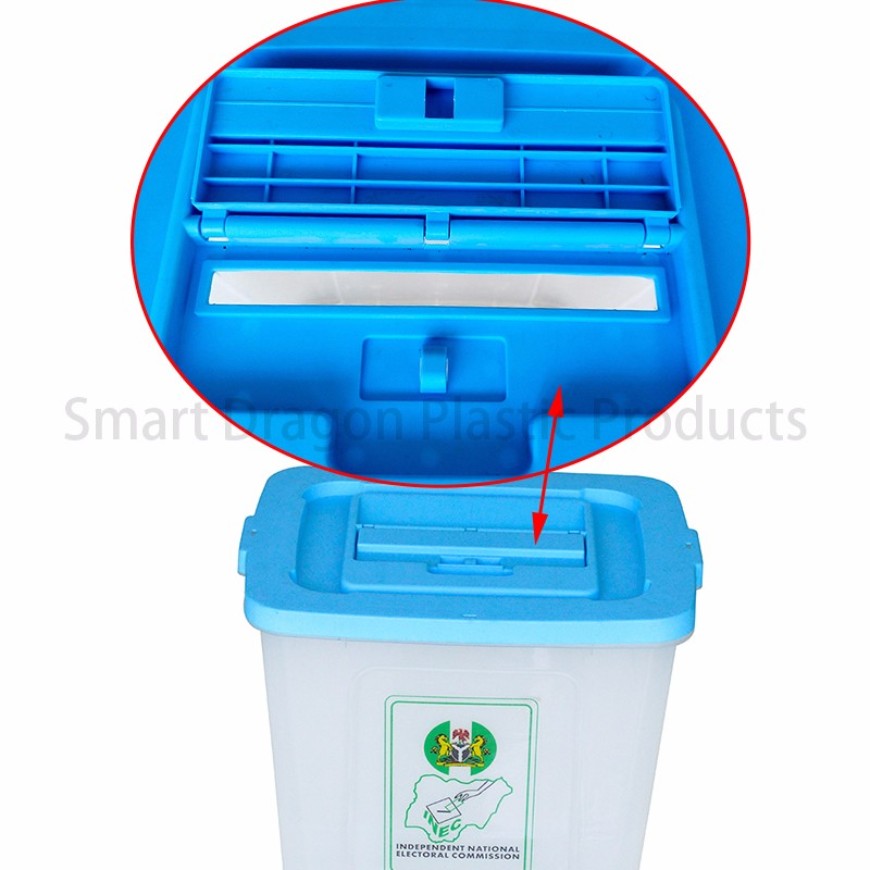 SMART DRAGON-Polypropylene 50-60l Plastic Voting Ballot Box | Plastic Ballot-2