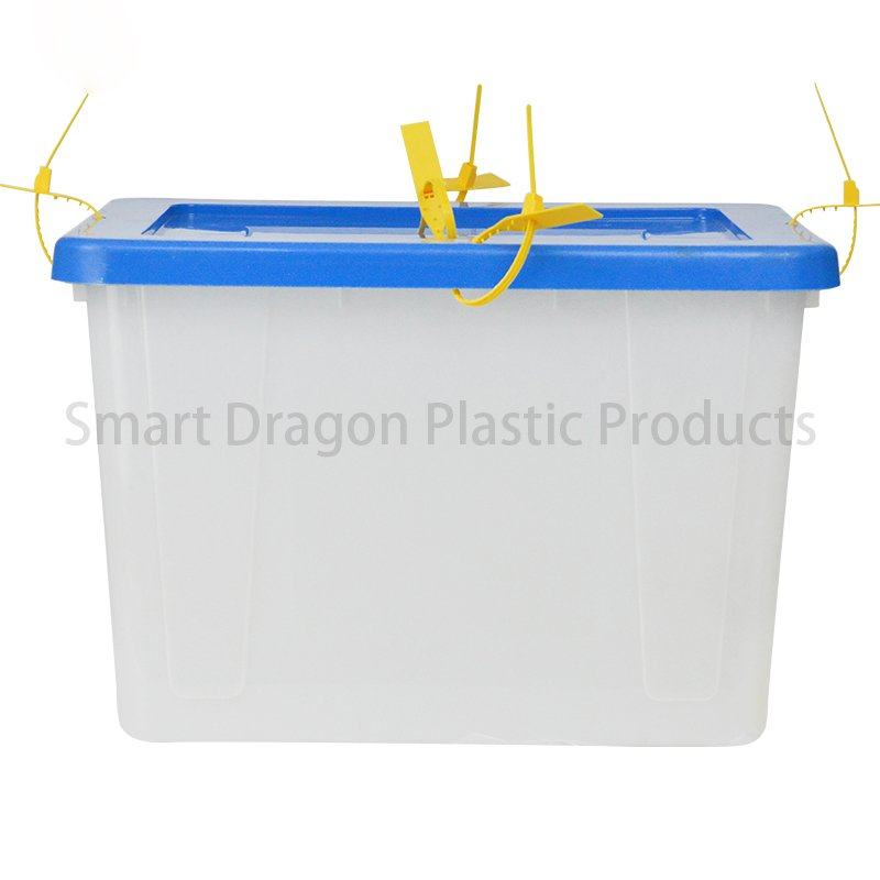SMART DRAGON Top 48 x40.5cm Plastic Ballot Voting Box Plastic Ballot Box image30
