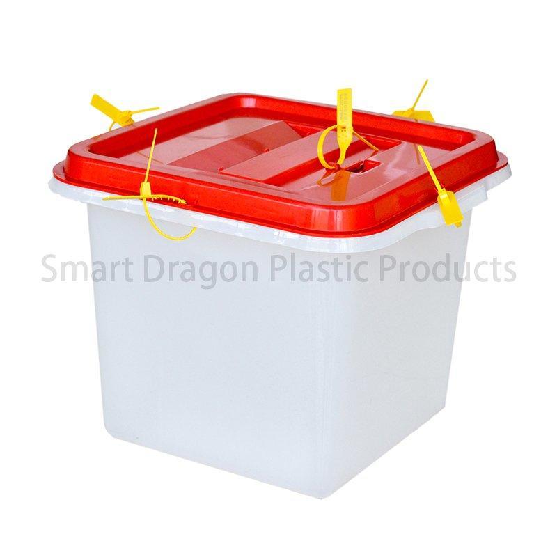 Base 32.5x32.5cm Plastic Ballot Voting Box