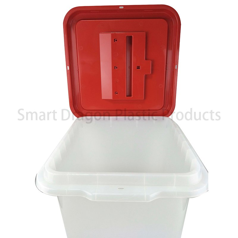 SMART DRAGON Base 32.5x32.5cm Plastic Ballot Voting Box Plastic Ballot Box image29