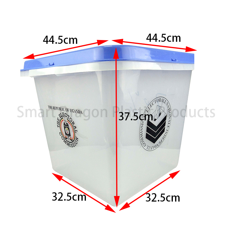 SMART DRAGON-Base 325x325cm Plastic Ballot Voting Box | Election Box Factory