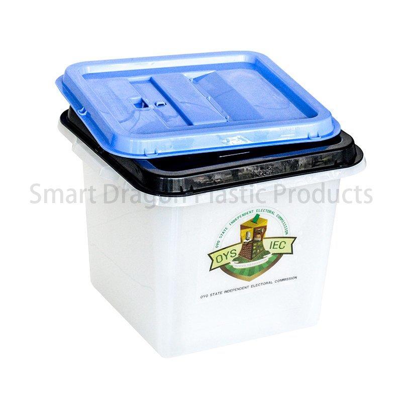 Transparency 0%, 50%, 70%, 90% Plastic Ballot Box