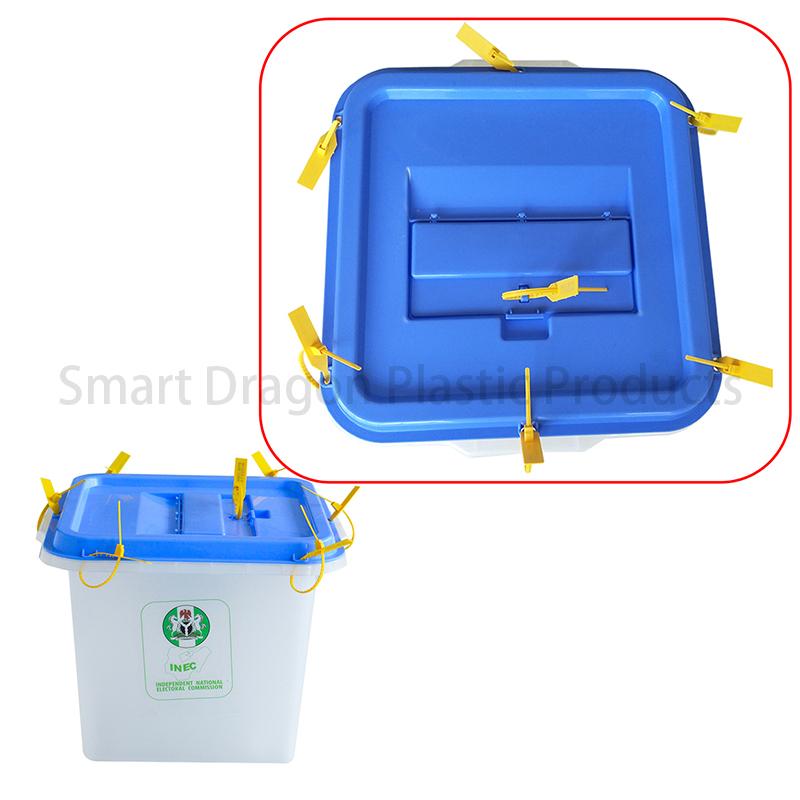 SMART DRAGON-Transparency 0, 50, 70, 90 Plastic Ballot Box - Smart Dragon-1
