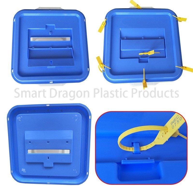 SMART DRAGON-Transparency 0, 50, 70, 90 Plastic Ballot Box - Smart Dragon-4