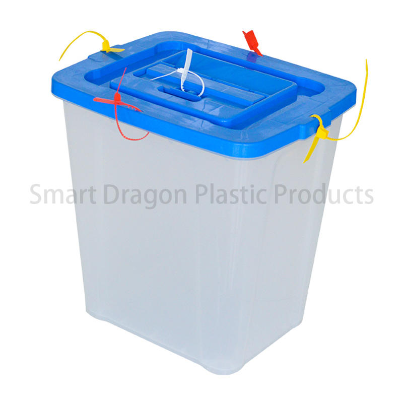 Thickness 3.5 ~ 3.7mm Plastic Ballot Box  For Election