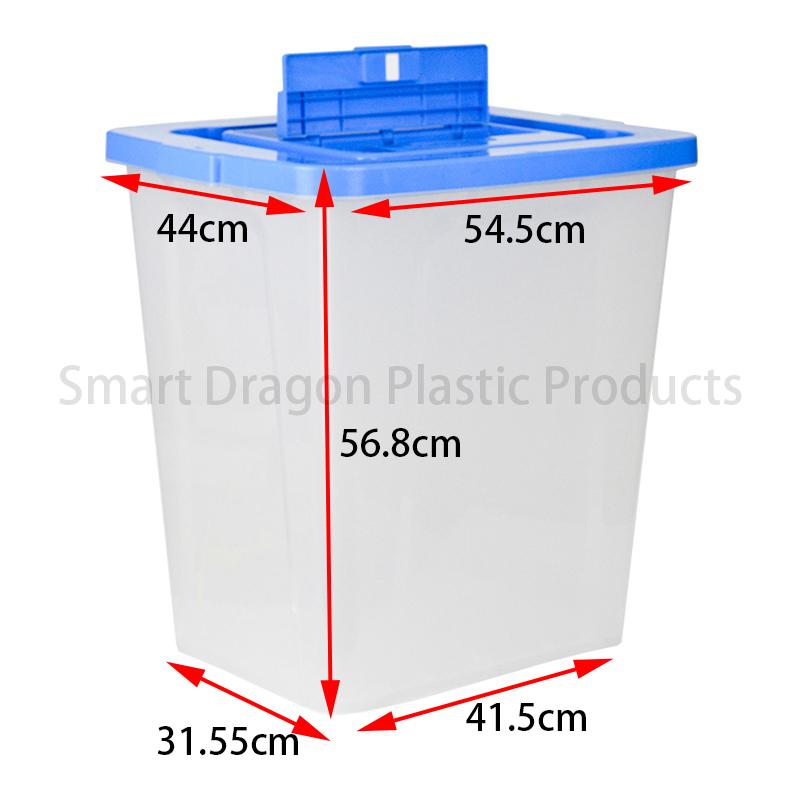 SMART DRAGON Thickness 3.5 ~ 3.7mm Plastic Ballot Box  For Election Plastic Ballot Box image27