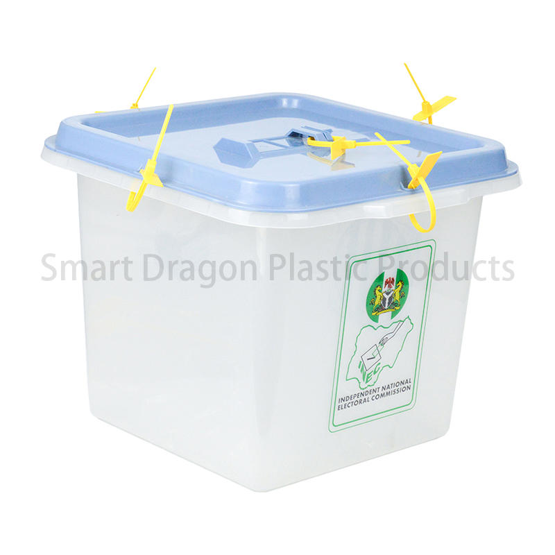 Pp Material 45L-55L Plastic Ballot Boxes For Election