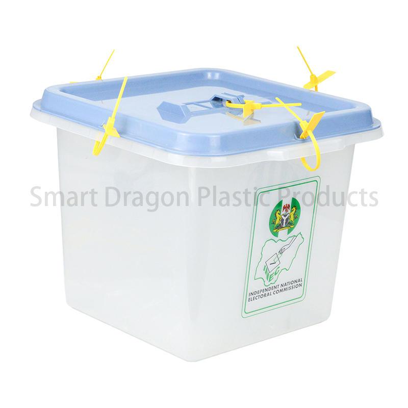 Pp Material 45L-55L Plastic Ballot Boxes For Election