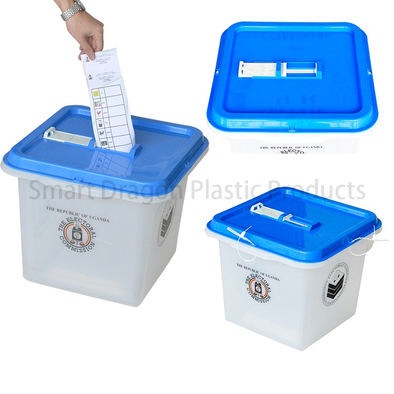 SMART DRAGON-High-quality Pp Material 45l-55l Plastic Ballot Boxes For Election-2