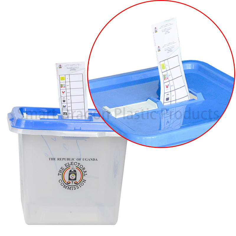 SMART DRAGON-High-quality Pp Material 45l-55l Plastic Ballot Boxes For Election-3