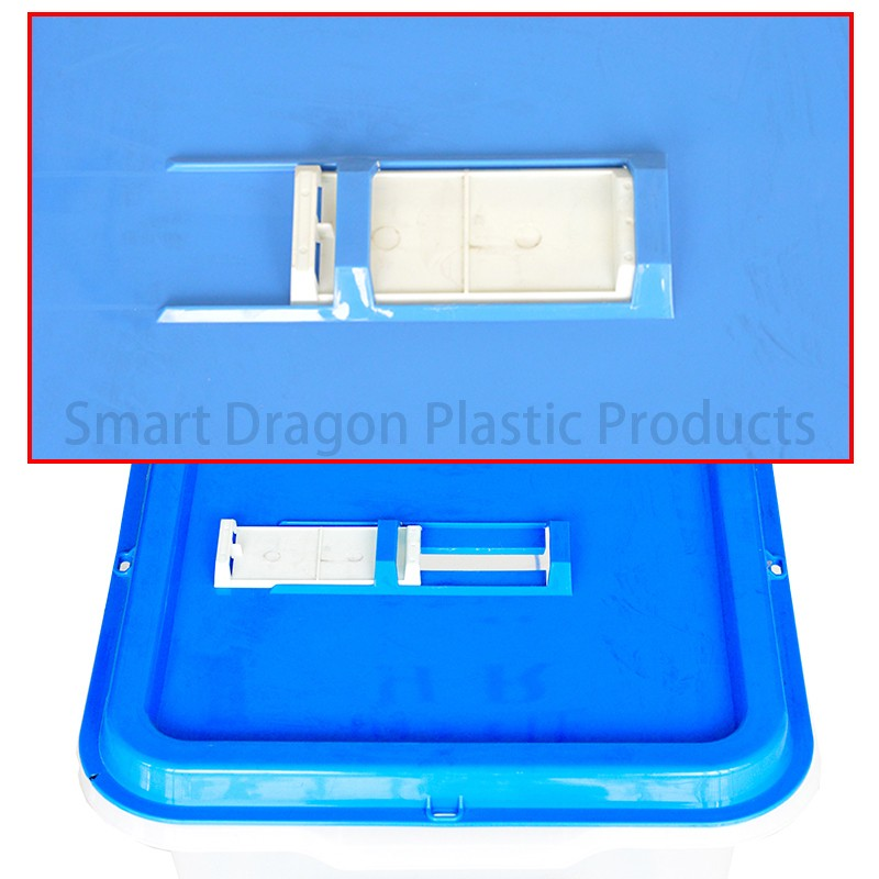 SMART DRAGON-High-quality Pp Material 45l-55l Plastic Ballot Boxes For Election-4
