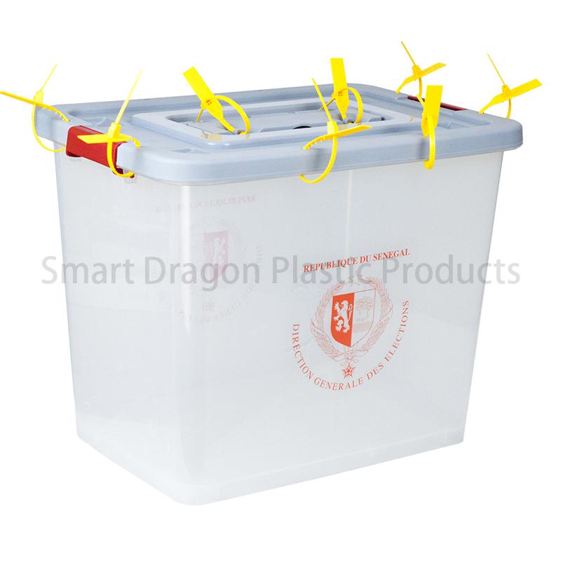 SMART DRAGON Pp Material Plastic Ballot Boxes For Voting Plastic Ballot Box image24