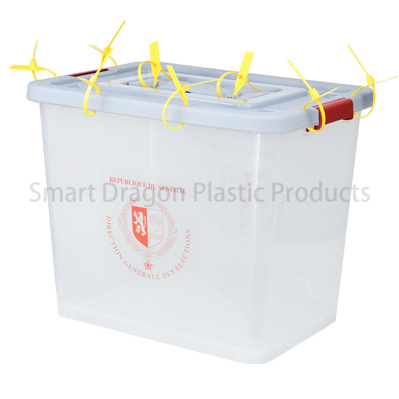 SMART DRAGON Transparent Ballot Boxes Plastic Storage Ballot Box Plastic Ballot Box image2